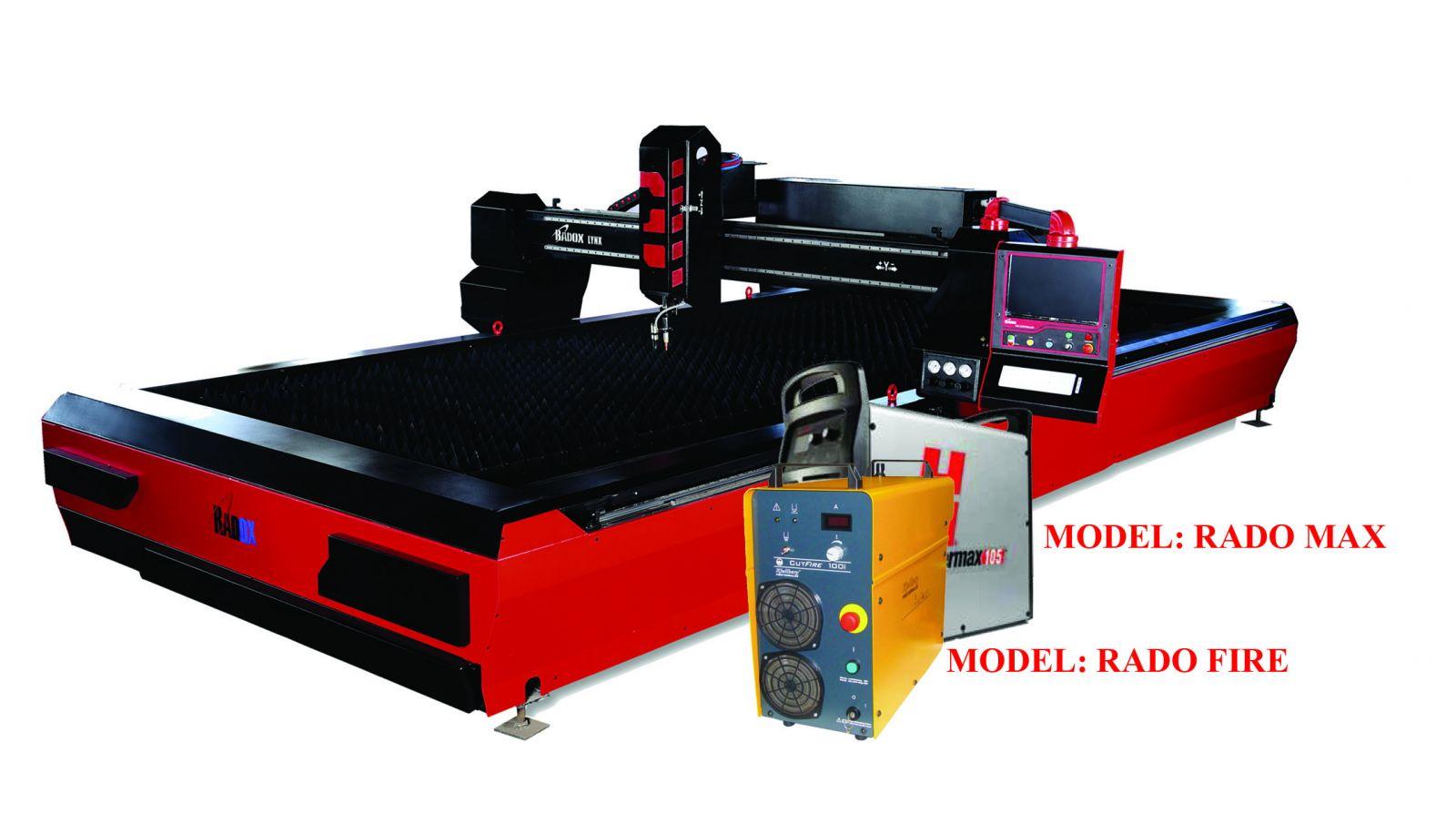 دستگاه CNC برش پلاسما RADO MAX 3*12