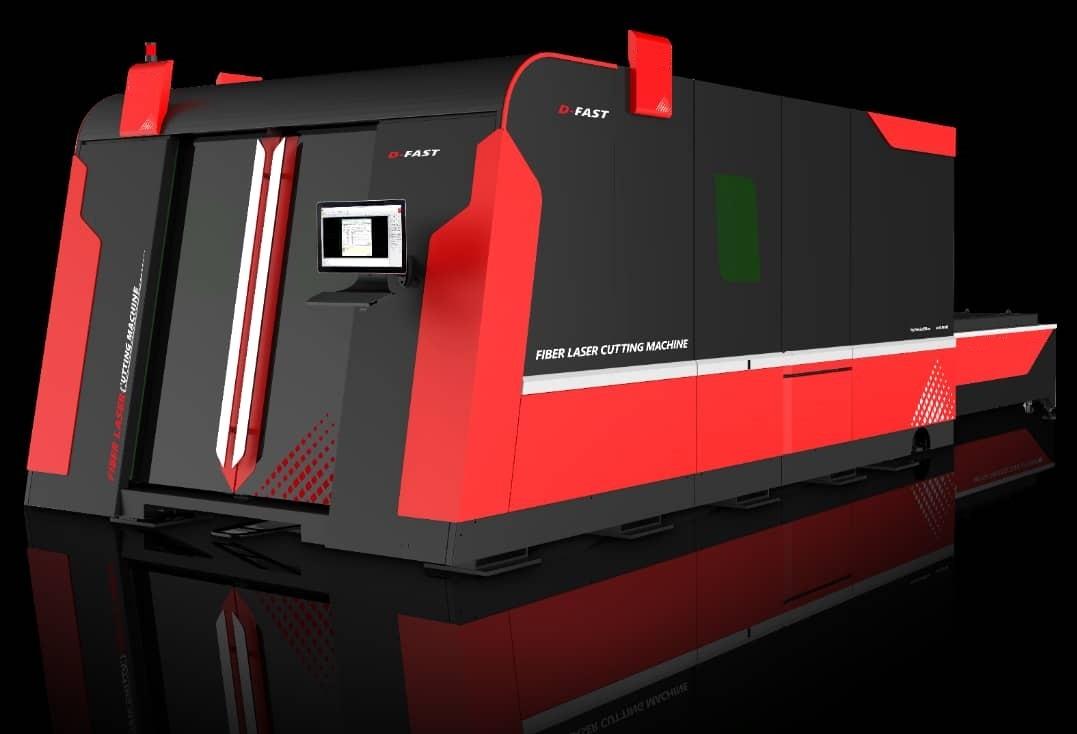 دستگاه CNC برش لیزر RADOX 4kw ابعاد کارگیر 3*1.5 متر