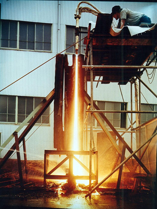 برش تا ضخامت 2.5 متر (2500mm)