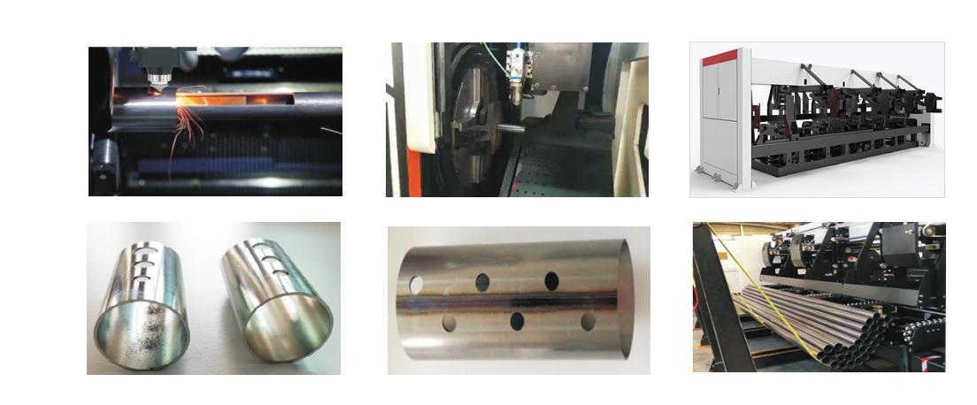 دستگاه CNC برش لوله لیزر elegant 1.5KW